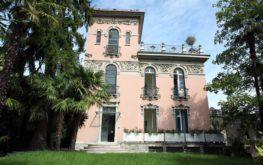 Villa Liberty: la facciata e ingresso storico