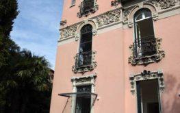 Villa Liberty: la facciata