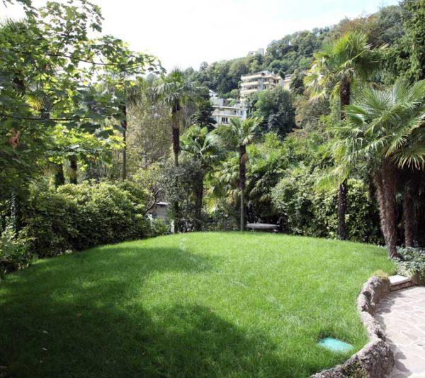 Villa Liberty: il giardino