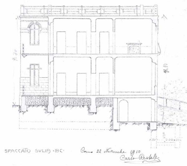 Progetto Villa Liberty 1910