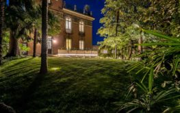 Villa Liberty - Giardino - night view