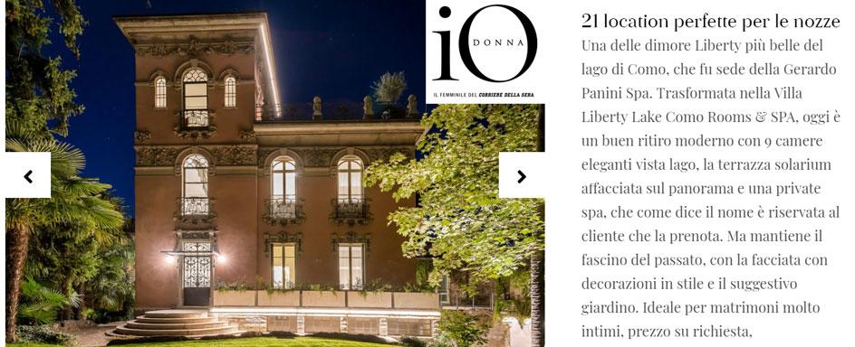iO Donna - 21 top location per matrimoni